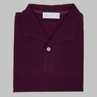 Simon Skottowe - Short Sleeve Polo Shirt mulberry