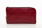 BASIC PURSE WITH ZIP Shiny red