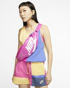 NIKE HERITAGE HIP PACK - MTRL FIRE PINK/FI