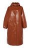 IMOGENE hooded rain coat - caramel