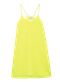 LEMON dress - neon yellow