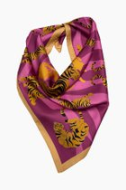 NADA medium silk scarf