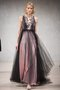 Cinderella maxi dress - black, pink