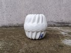 "MUFFIN / ""spiral"" salt & pepper shaker white"