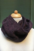 Man Loop Scarf SD42WP - Woven purple