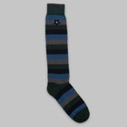 Fumagalli 1891 - Bastia long socks blue grey striped socks