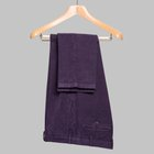 Winter' cotton trousers purple