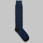 Fumagalli 1891 - Bastia long flower socks blue