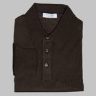 Gran Sasso - Wool/silk tennis sweater olive
