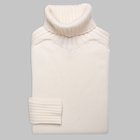 Gran Sasso - Chunky turtleneck sweater white