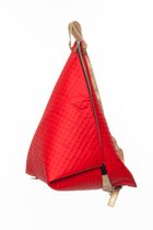 BIG DELTA BACKPACK Red dotted
