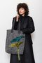 Erin tote bag - Two free sequined birds tote bag