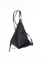 MINI DELTA BACKPACK Black dotted