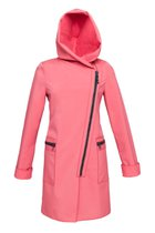 FIODA coat salmon pink