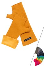 EMI hand warmer ochre yellow