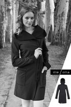 FIODA coat black