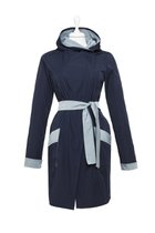 FIFI summer coat dark blue-light blue