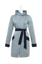 FIFI summer coat light blue-dark blue