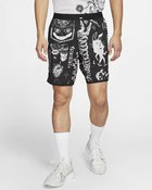 M NK WILD RUN FLX STRD SHORT BLACK/BLACK/