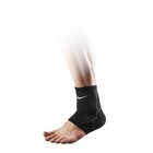 NIKE ADVANTAGE KNITTED ANKLE SLEEVE BLACK/ANTHRA