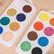 Giant button Tempera for kids - basic colours