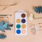 Giant button Tempera for kids - completive colors
