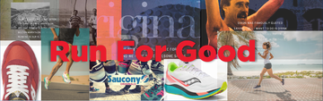 Saucony brand page banner